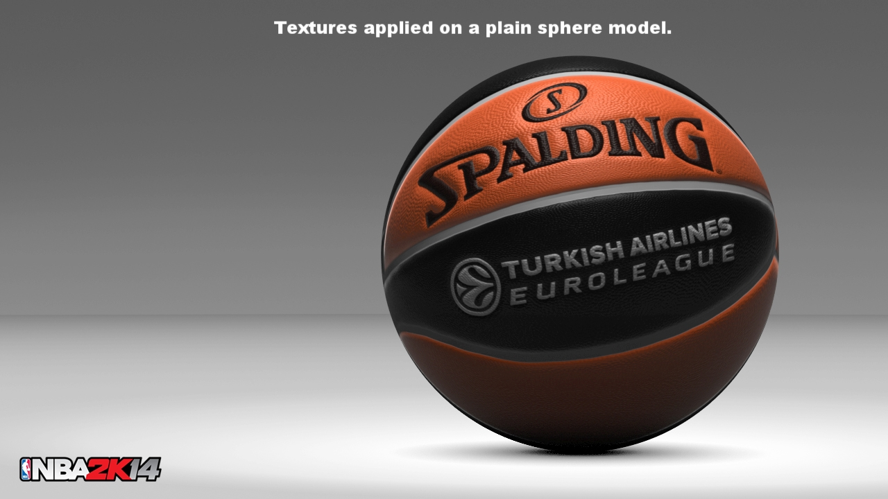 Textures I created at 2K Sports: