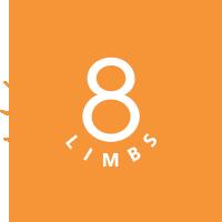 8 Limbs Yoga Logo | Performance Yoga Training Partner