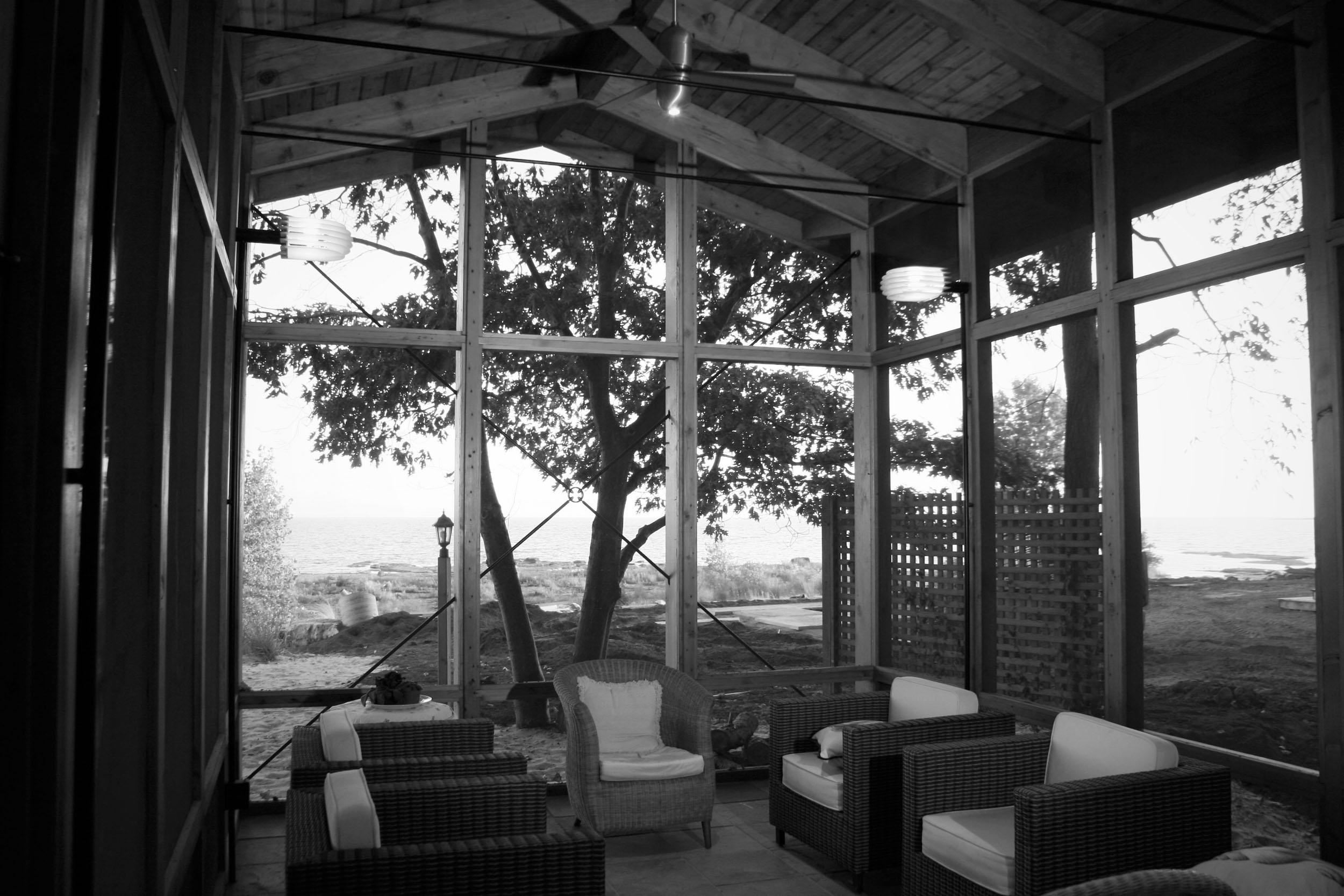 Collesano Beach House - Winner - AIA Buffalo-WNY - Citation Award 2007Published - Buffalo Spree - March 2007