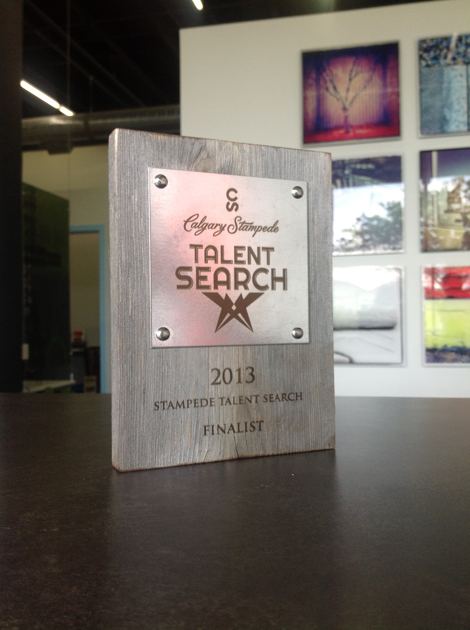 Stampede Talent Plaque.jpg