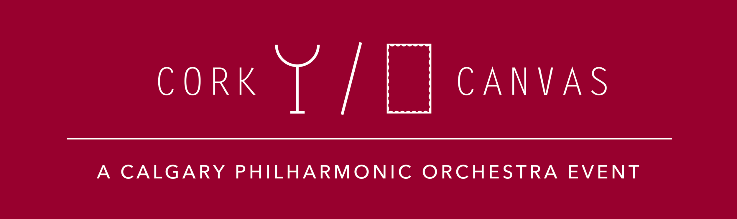 Calgary Philharmonic Orchestra's Cork and Canvas Gala Dinner