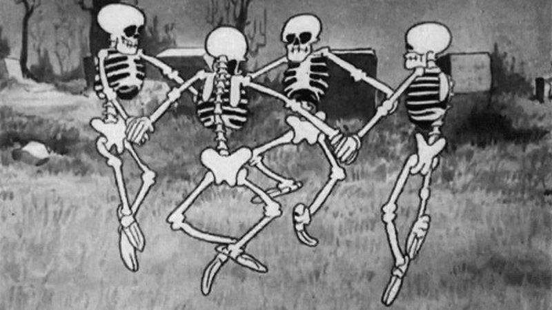 1929 Disney short film  The Skeleton Dance
