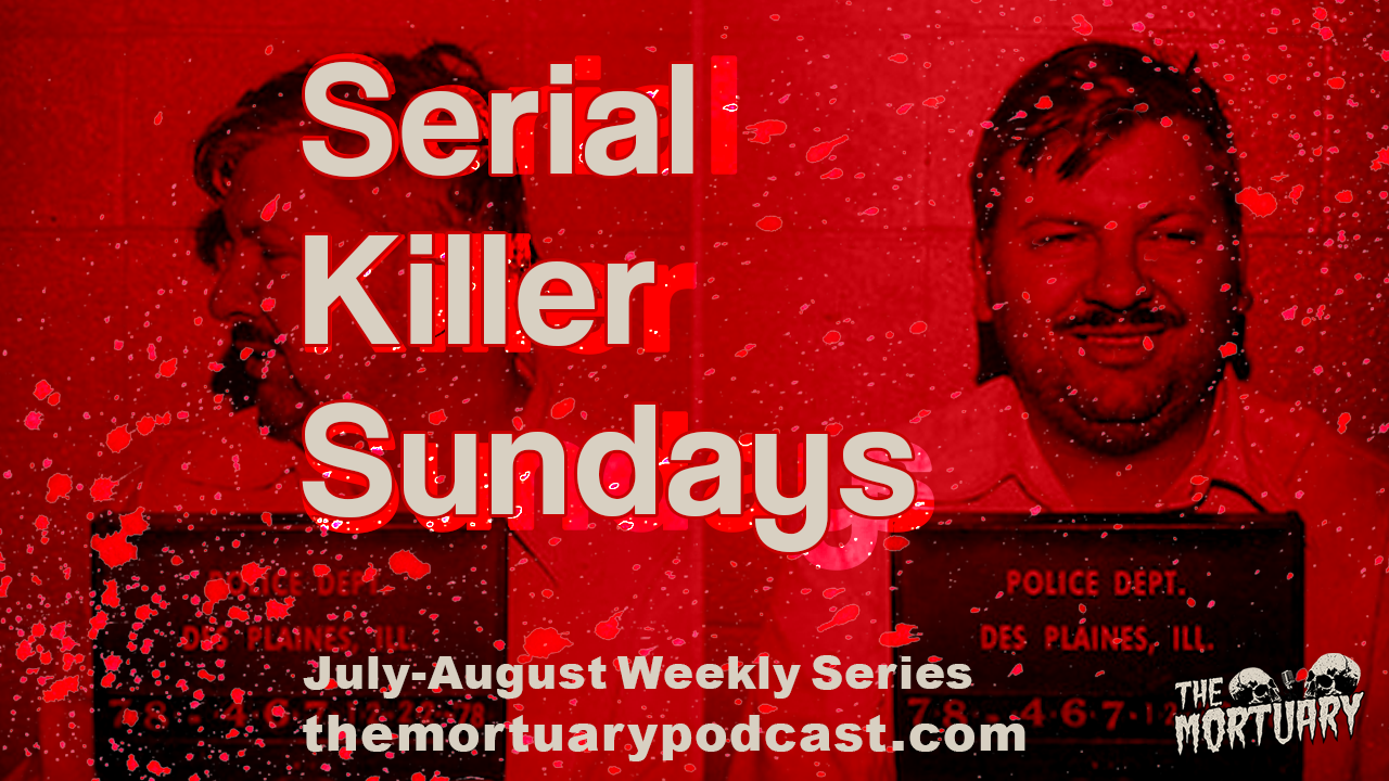 John Wayne Gacy mugshot Serial Killer Sundays podcast