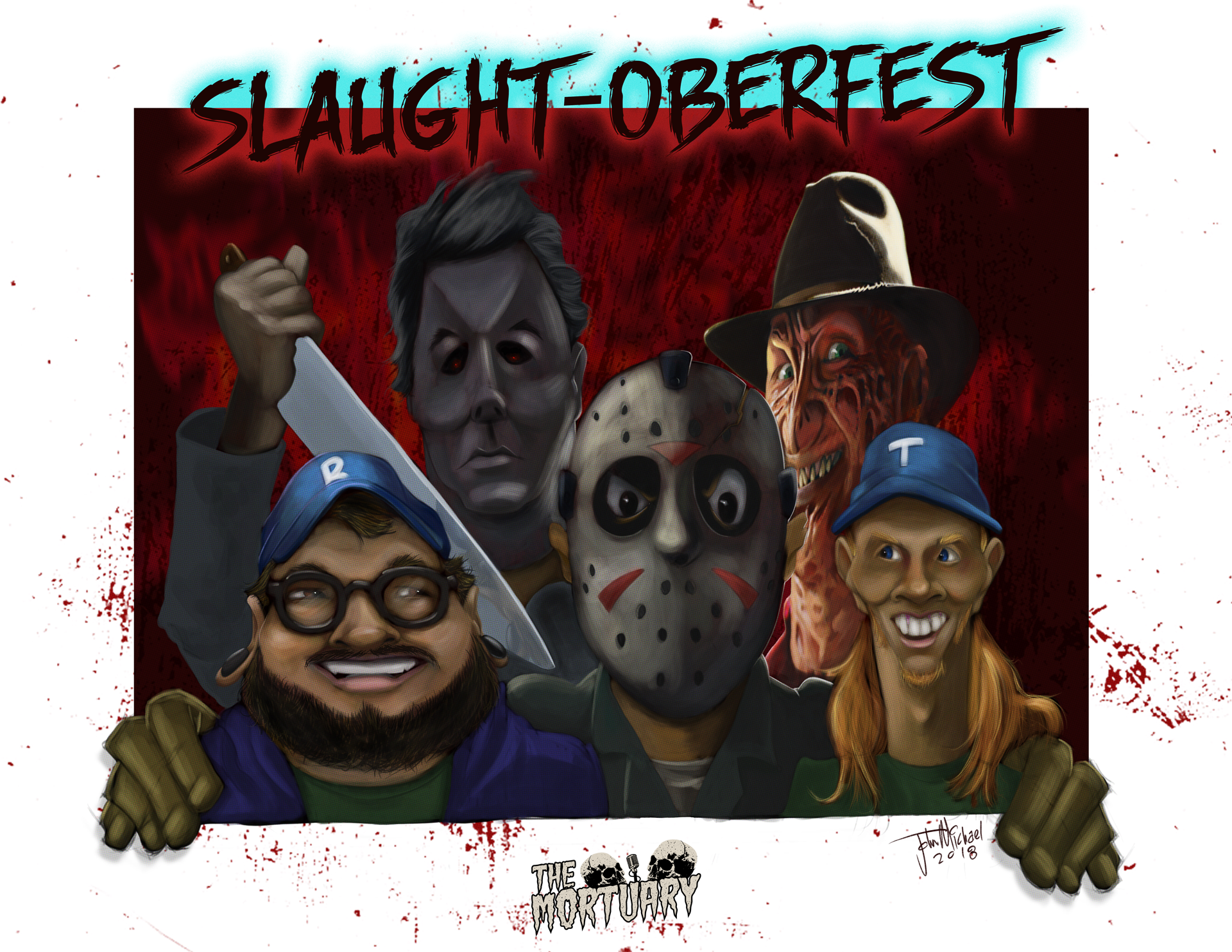 Slaught-Oberfest The Mortuary Goofy Ink Podcast October Halloween Podcast