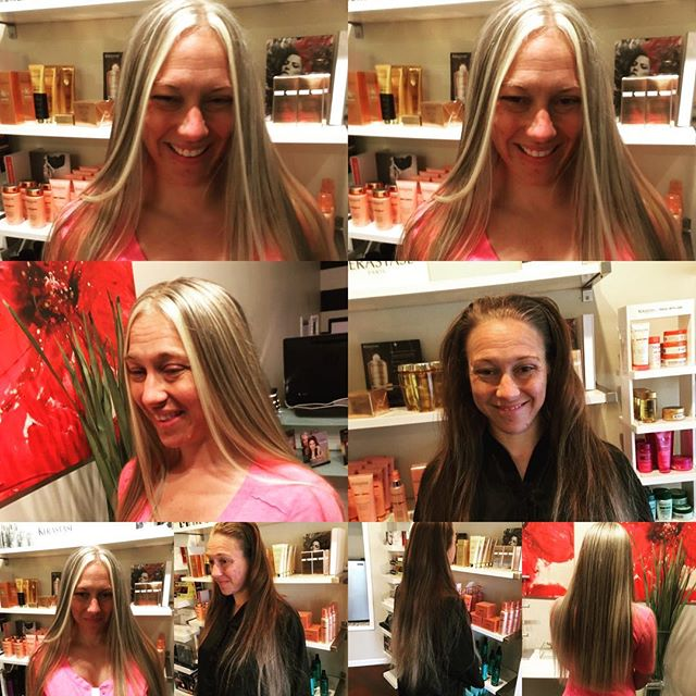Before & after  Color by Raymond vahedian @collinreymond