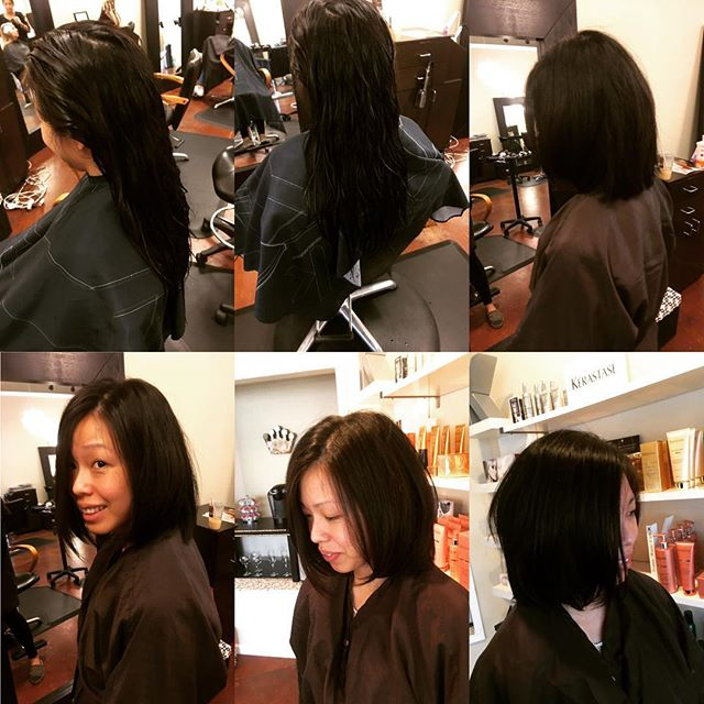 Before & after  Cut by Raymond vahedian @collinreymond