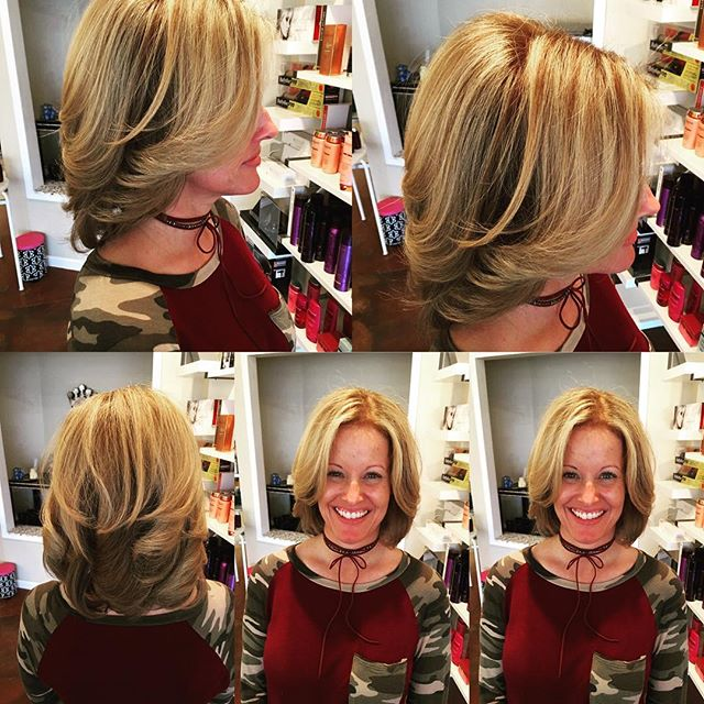 Color by Raymond vahedian and blowout by Kristen dale jones @collinreymond