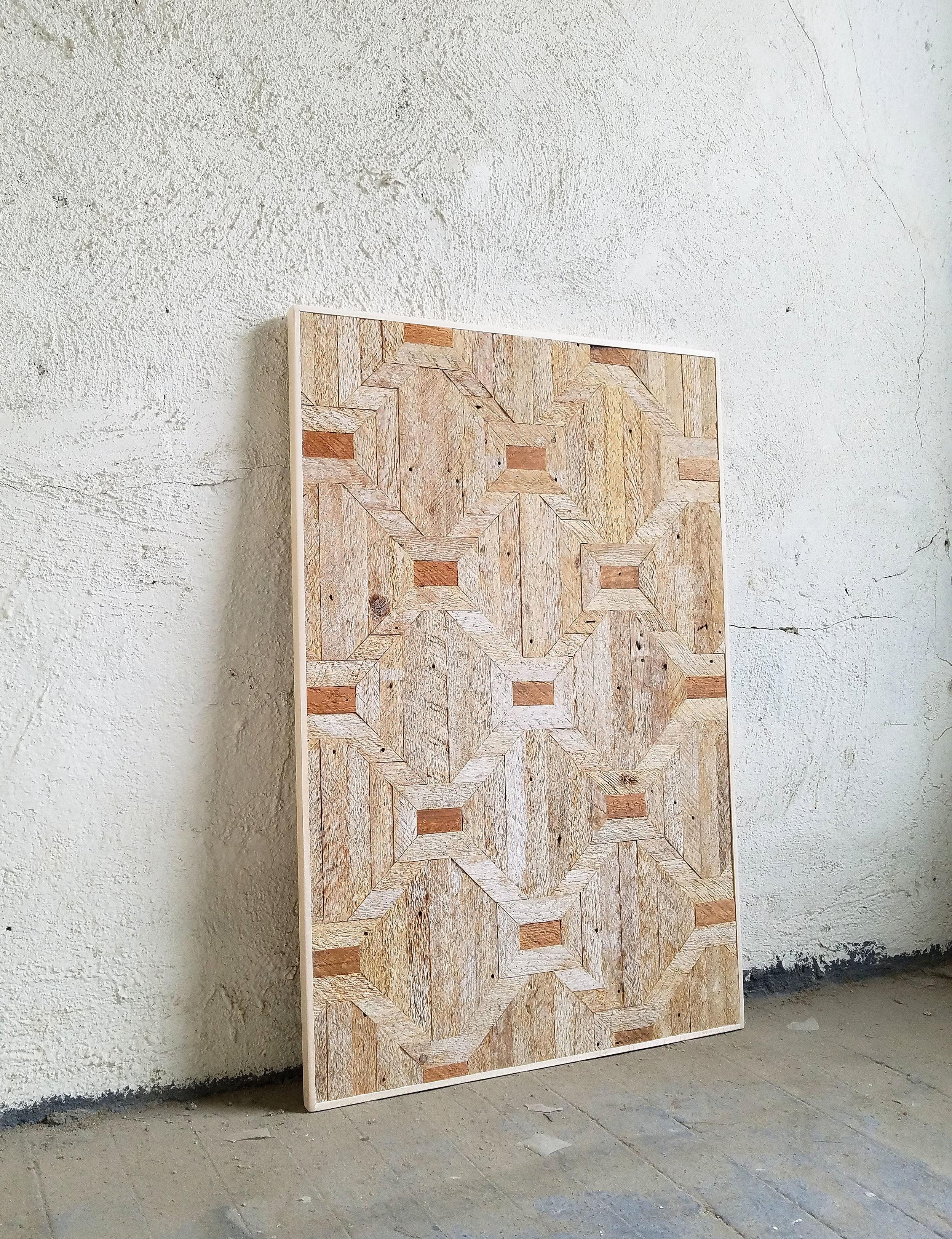 Untitled I   Wood 36 1/2 x 24 1/2 in