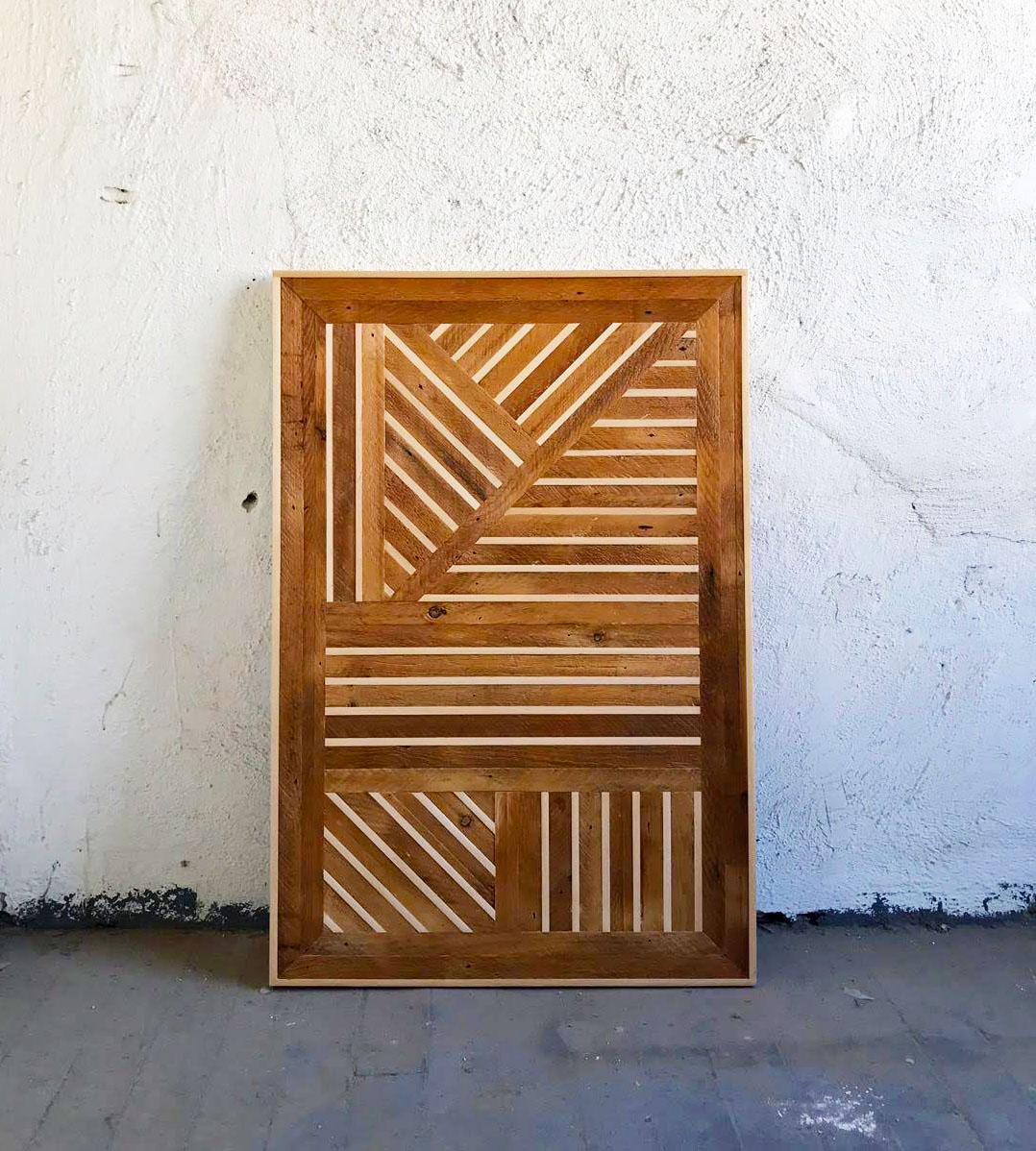 Untitled II   Wood   36 3/4 x 24 3/4 in