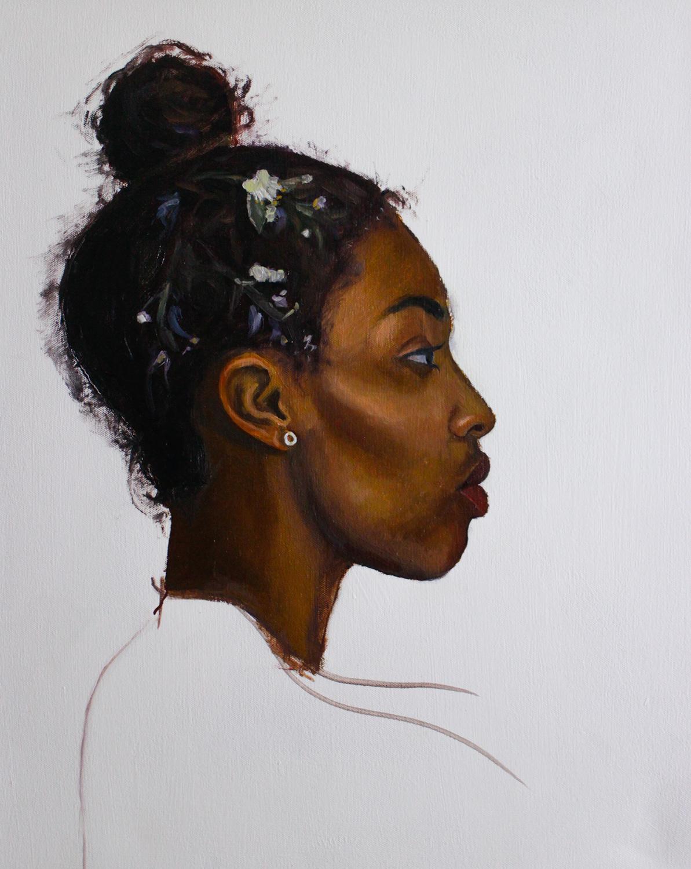 Shawnee   Oil on canvas 16 x 20 in