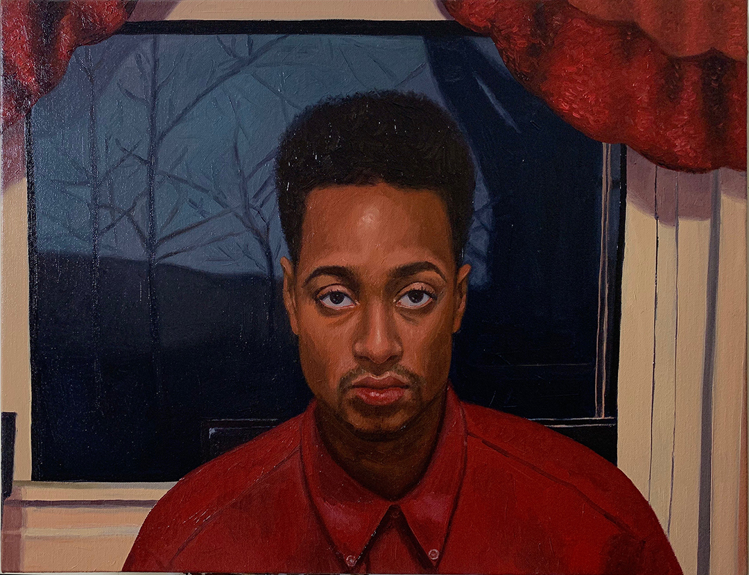 Seth   Oil on canvas 18 x 24 in $3,800