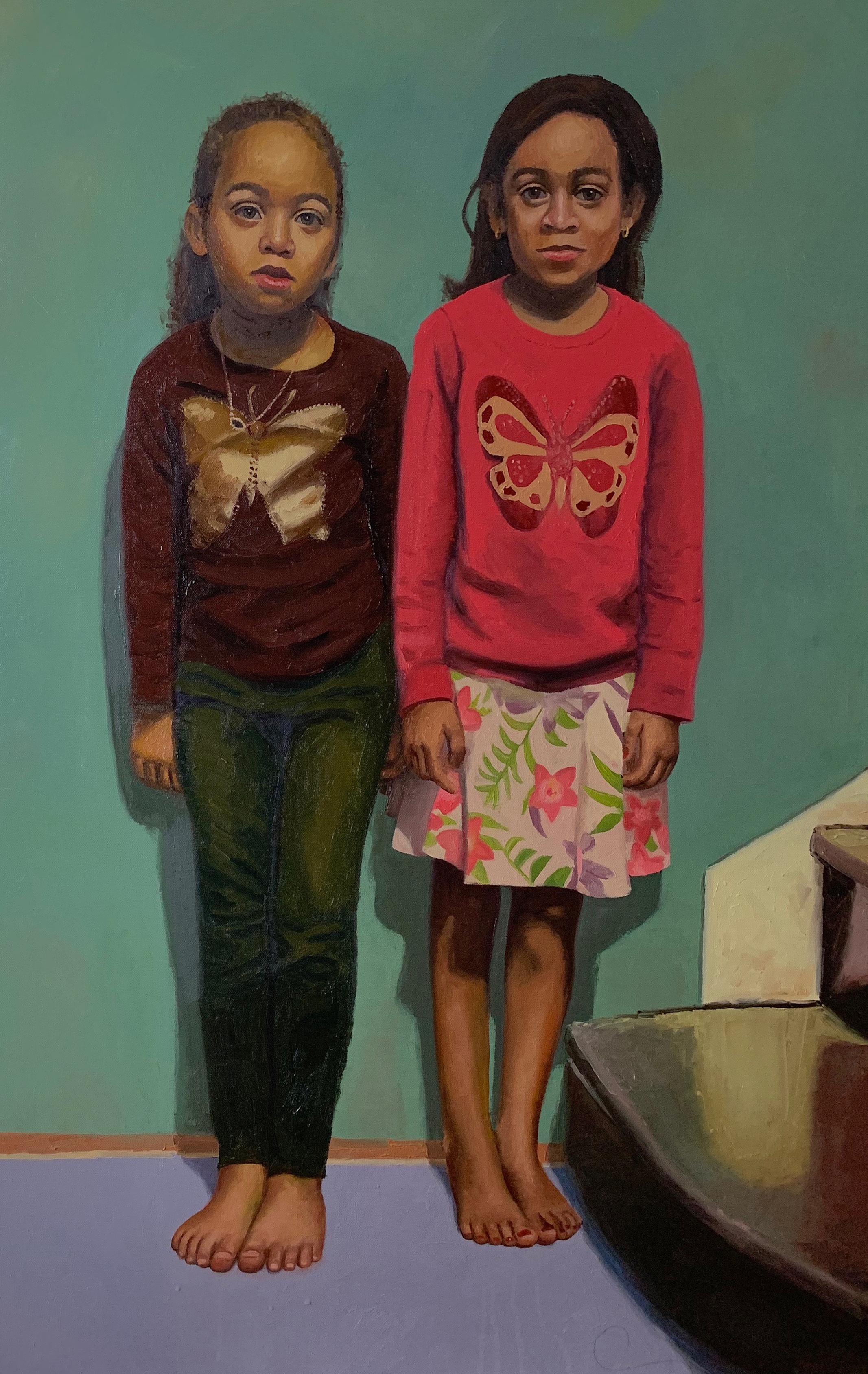 Transcending Joy   Oil on canvas 40 x 26 in