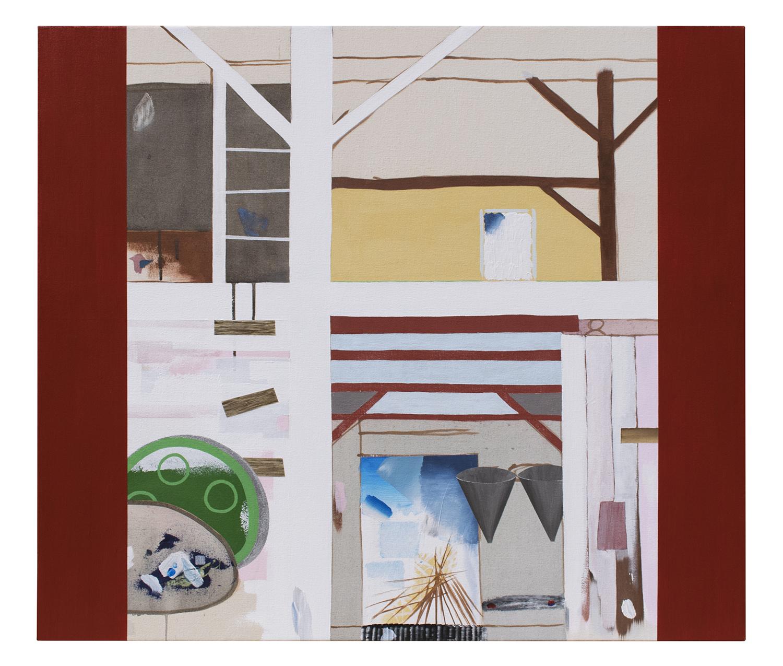 Seasonal Chores  Acrylic on Canvas 36 x 41 in