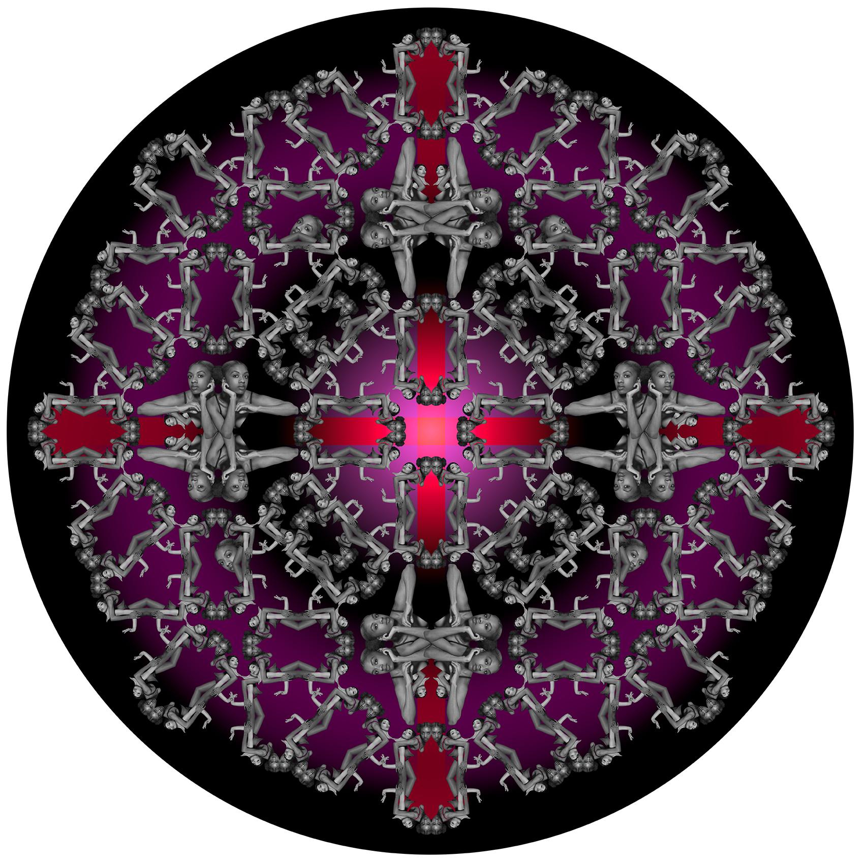 A Harmonic Convergence of the Feminine/ Rafia Santana   Archival pigment print 17 x 22 in