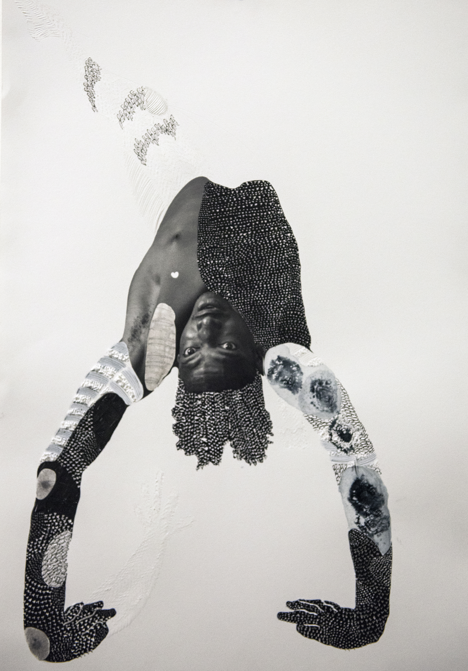 Shift   Hand sculpted paper photo print 22 x 18 in