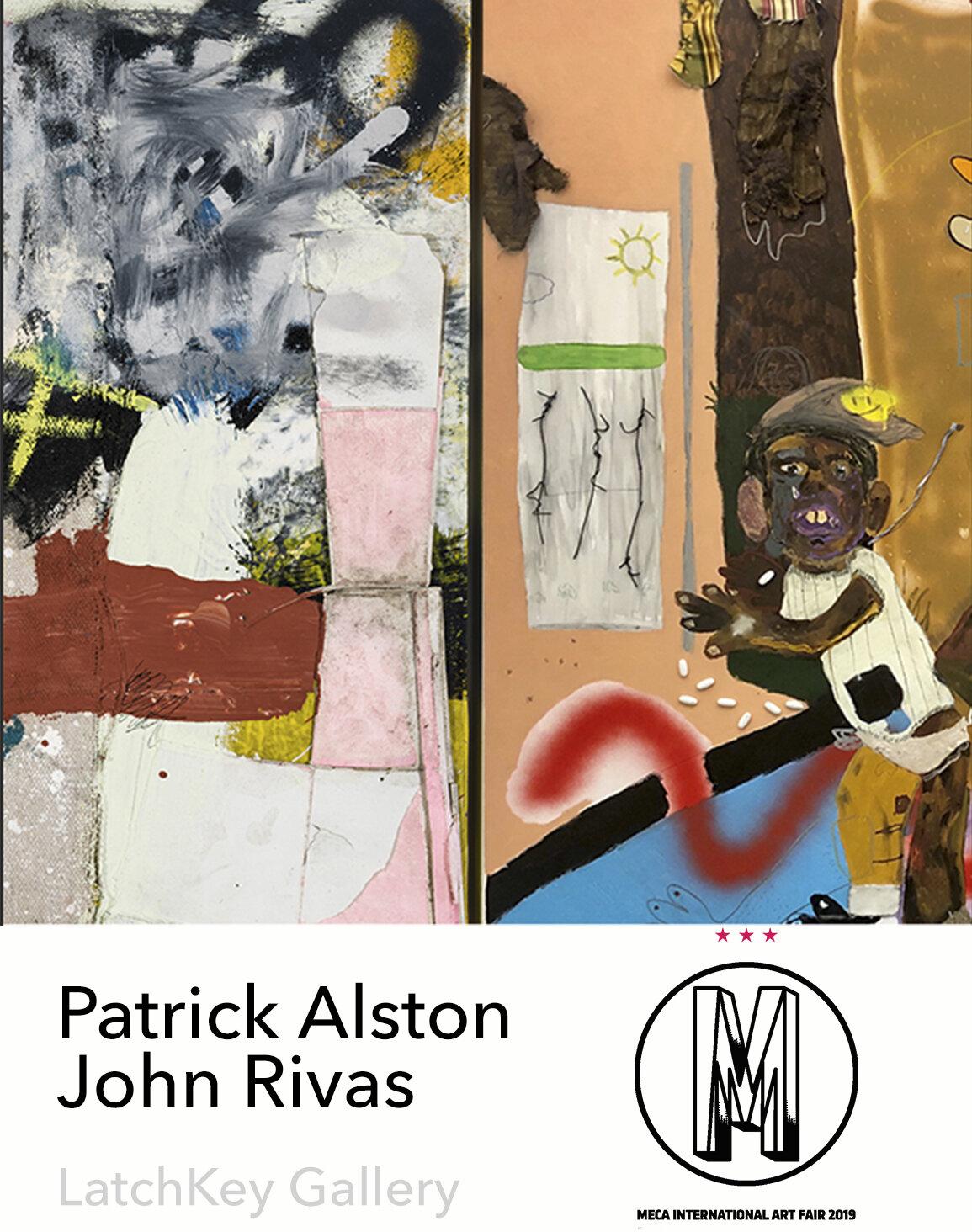 FUTURE:  MECA Art Fair  Patrick Alston | John Rivas  Explaining Your Mark