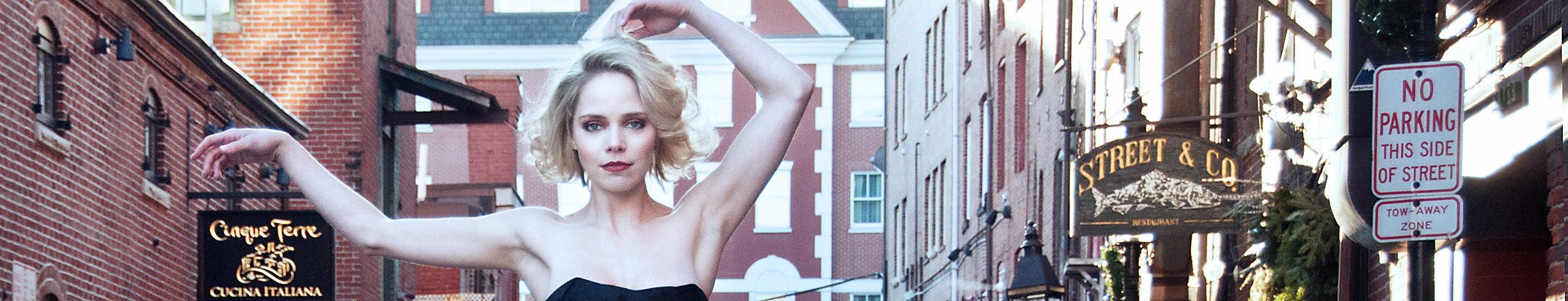 Ester Eva - Model test shoot, Portland, Maine