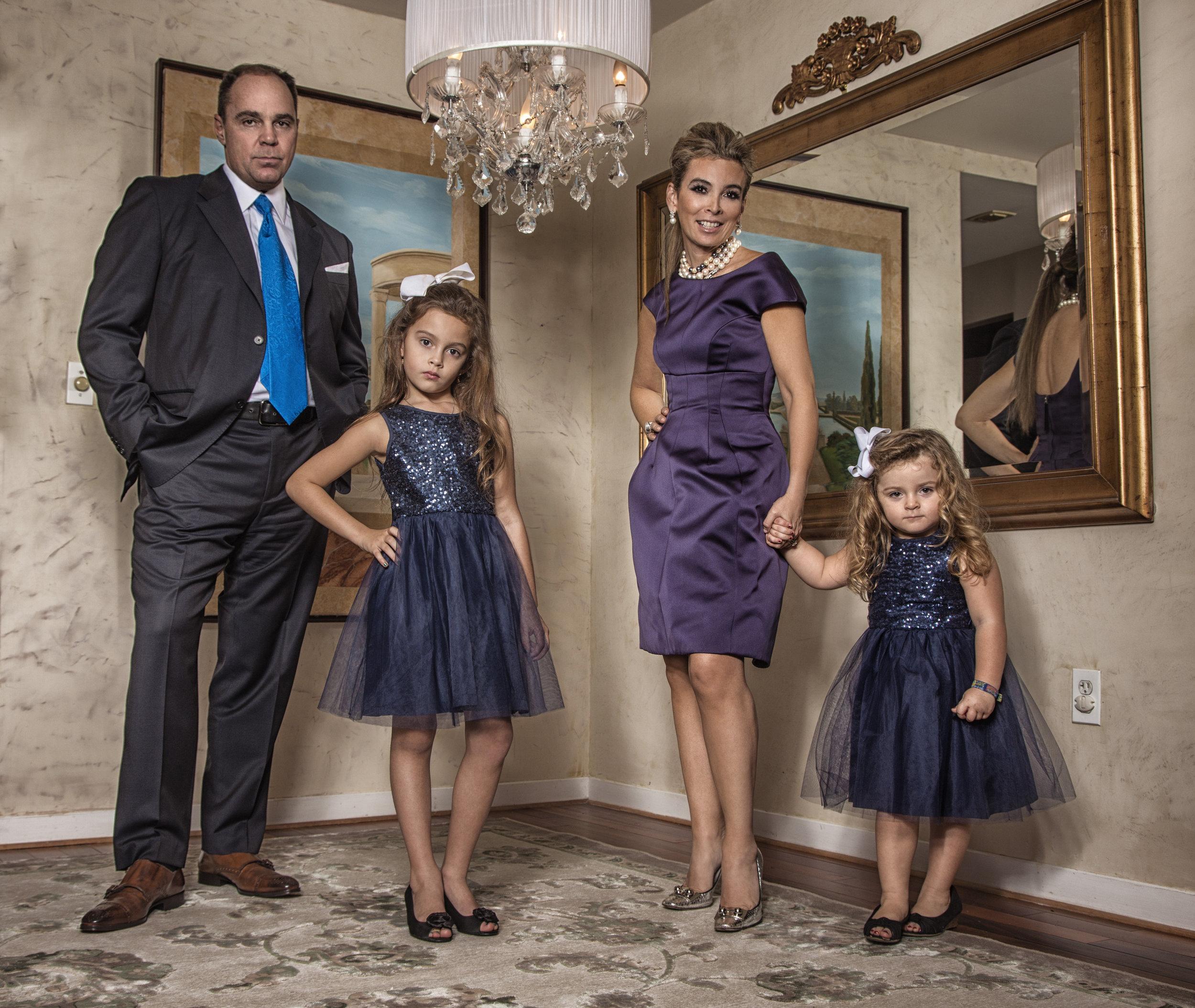 Artistic family portrait, Cambridge, MA.