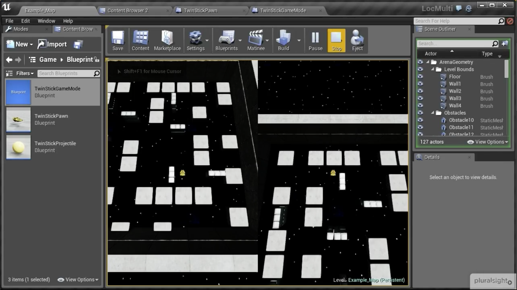 Setting Up a Split Screen Multiplayer Game in Unreal Engine