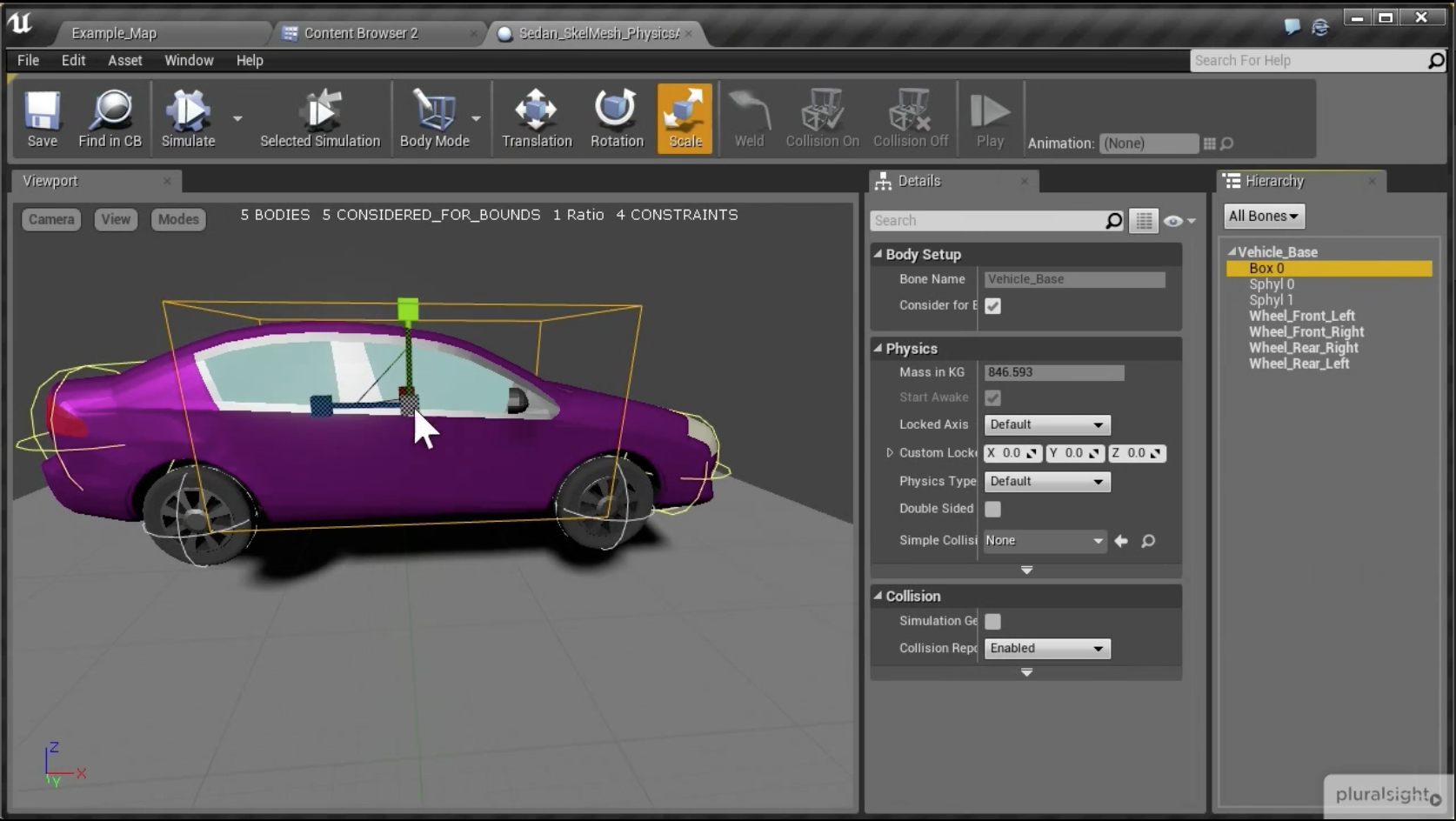 Creating a Wheeled Vehicle in Unreal Engine