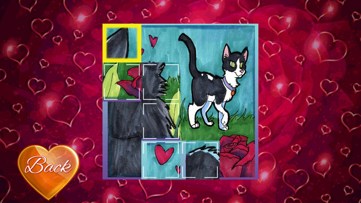 A Cat's Tale on Valentine's Day