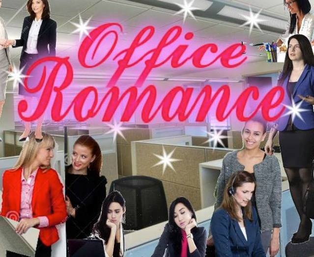Poster I made for my play  Office Romance