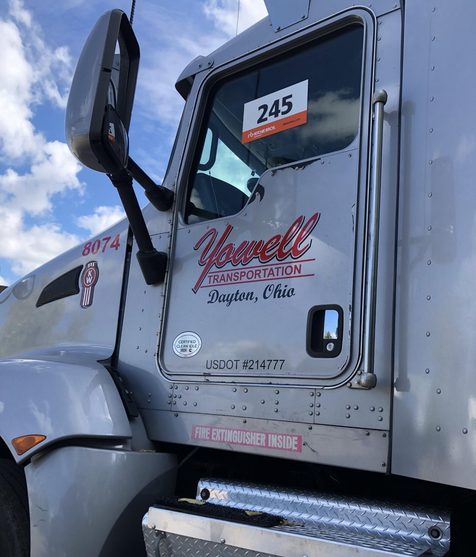 Semi-Truck Door Lettering and US Dot number