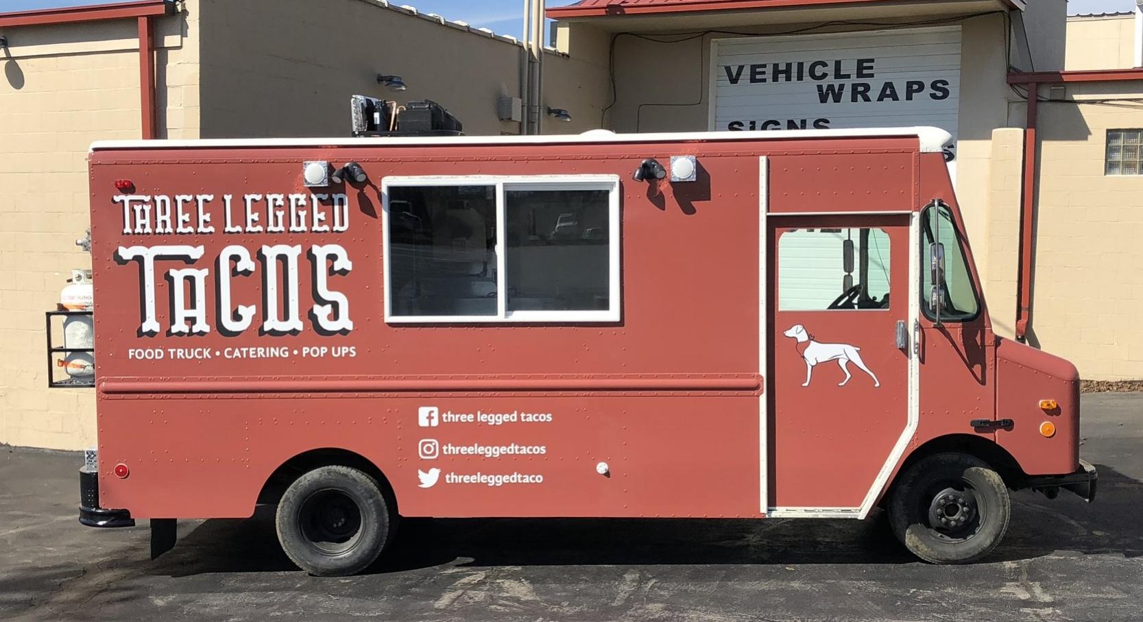 taco food truck wrap