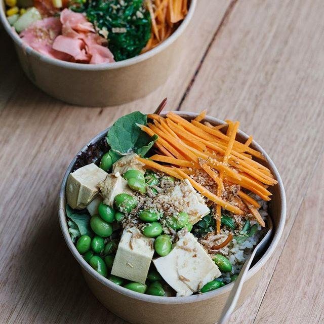 The Buddha!! Vegan and gluten free! #pokebay #baytobowl 📷 by @victoriaharbour