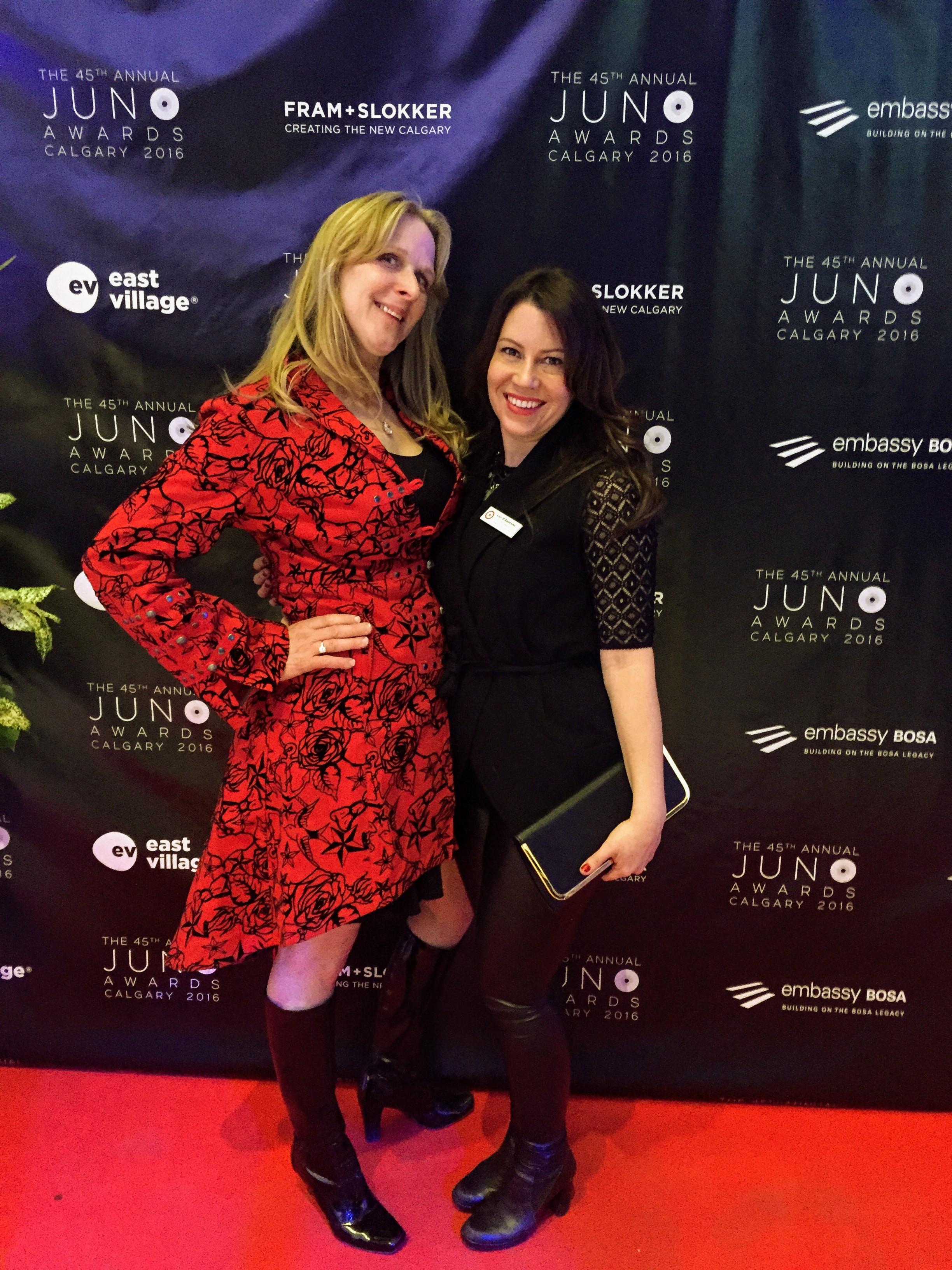 Lea Romanowski official florist for the 2016 JUNO's
