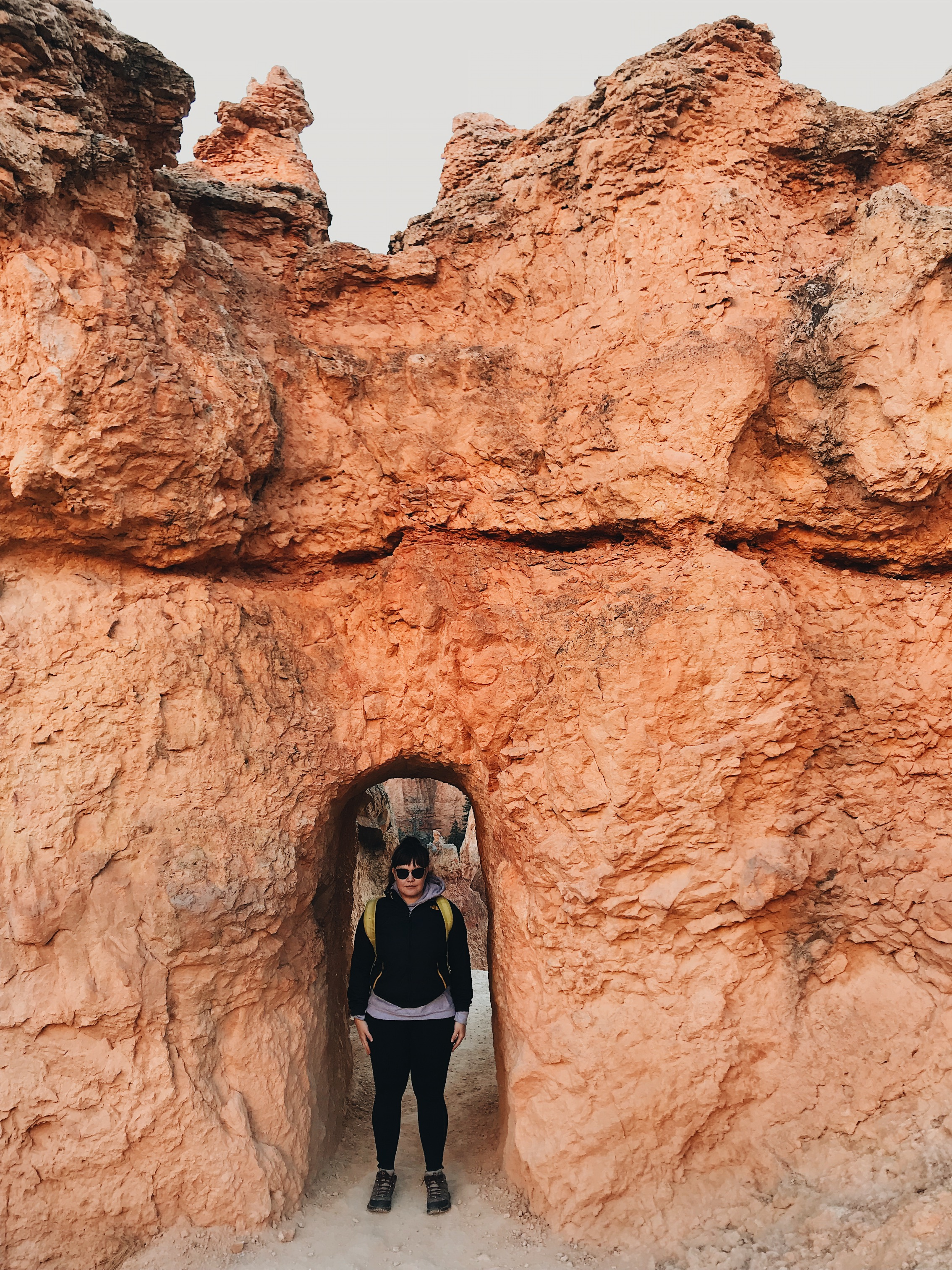 Stone-face serious about this story. Bryce Canyon death stare captured by audre rae photography.