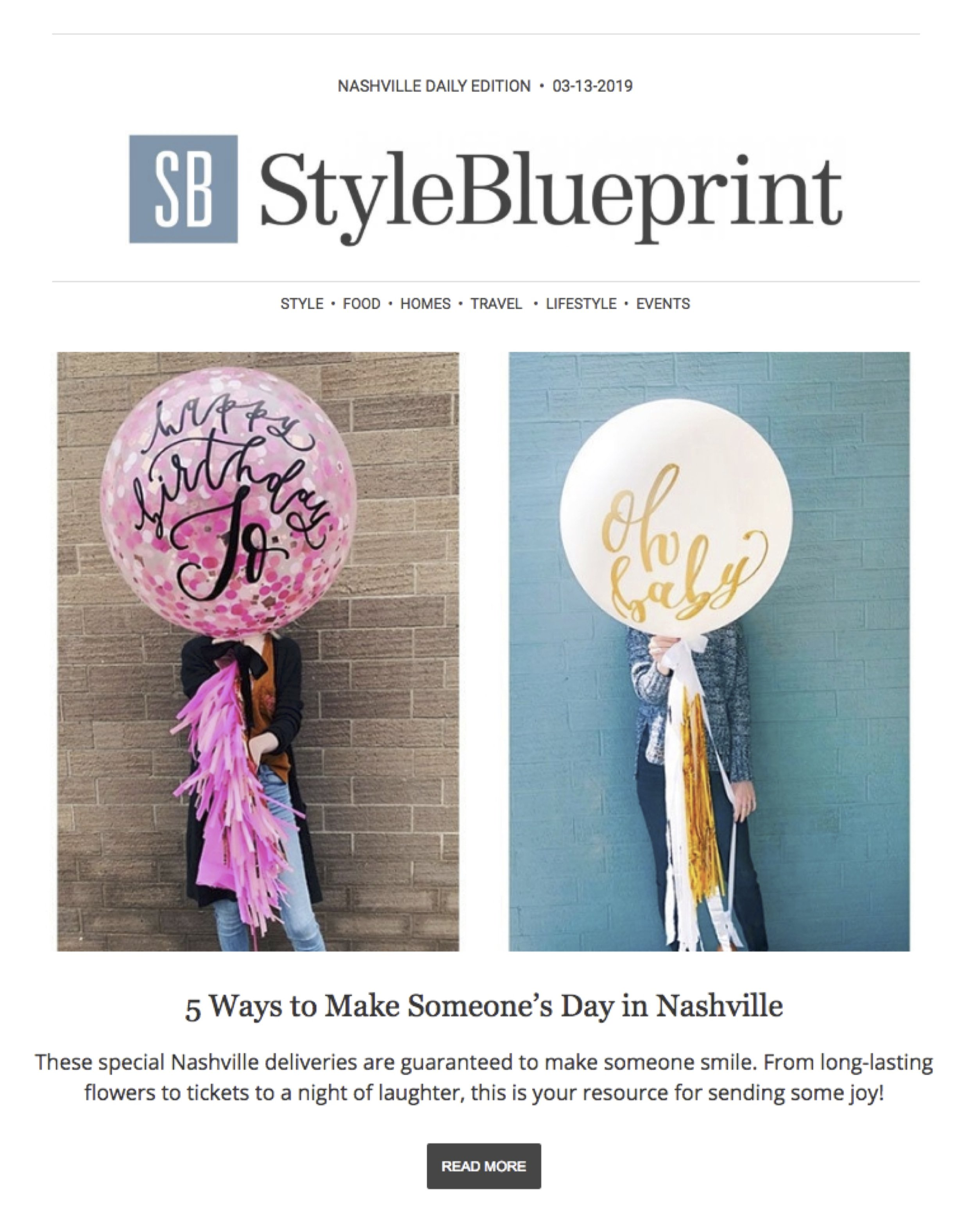 STYLEBLUEPRINT NEWSLETTER 13 MARCH 2019 vroom vroom balloon.jpg