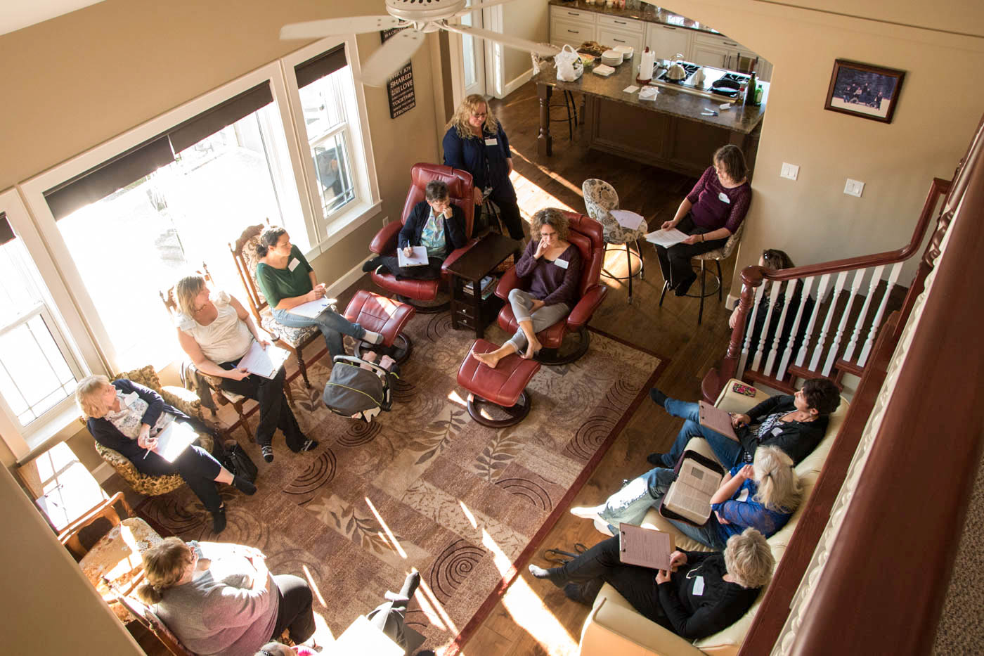 Bible Study in a Home