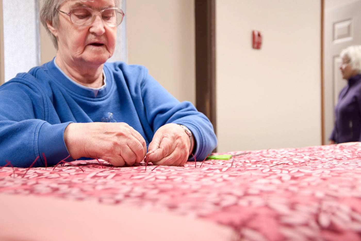 Join us for Quilting at The Gospel Chapel