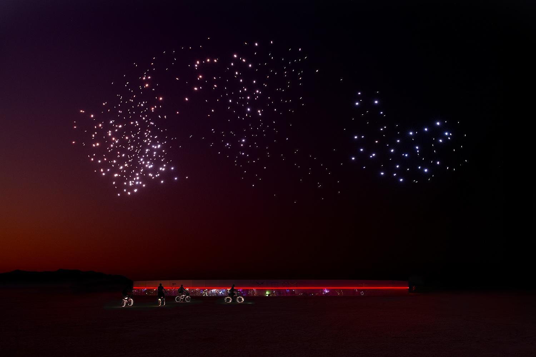 September 2018, Burning Man. Photo: Rahi Rezvani. Image courtesy of Studio Drift.