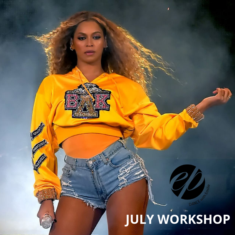 Summer Workshop ✭Beyoncé Homecoming - Sunday July 21, 3:00 to 4:30 pm at Second Studio