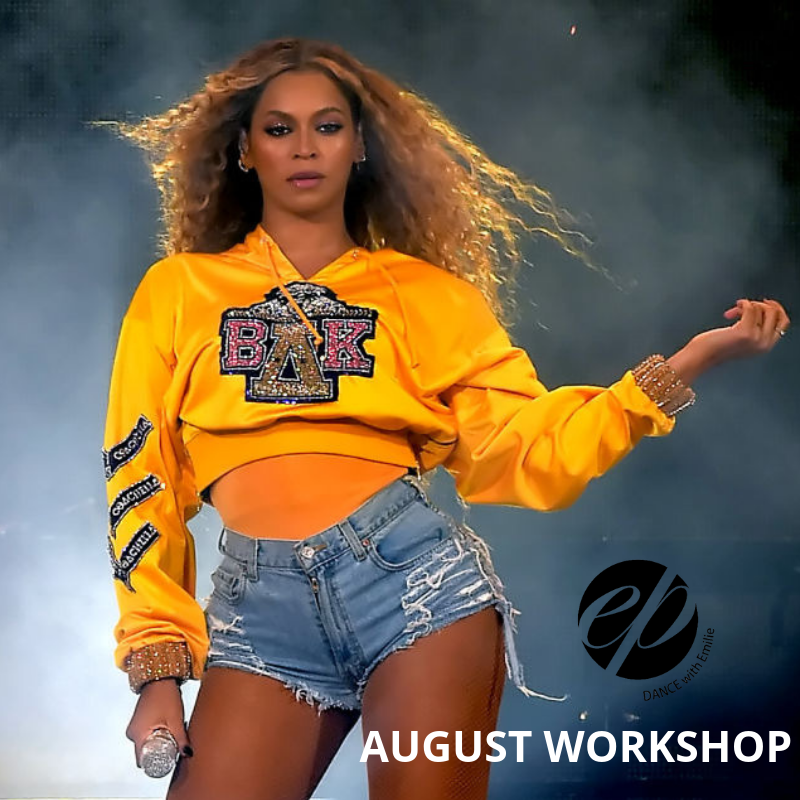 Summer Workshop ✭Beyoncé Homecoming - Sunday August 11, 3:00 to 4:30 pm at Second Studio