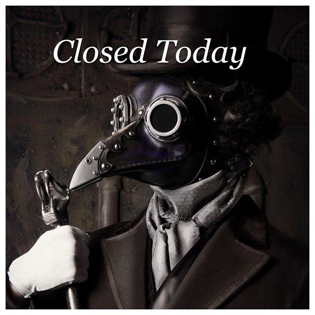 No walk ins today :(