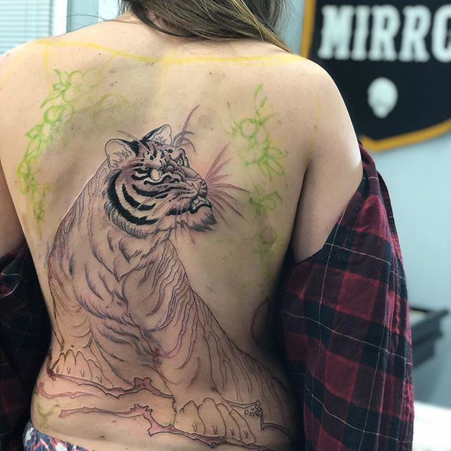 Good first sitting for Sam