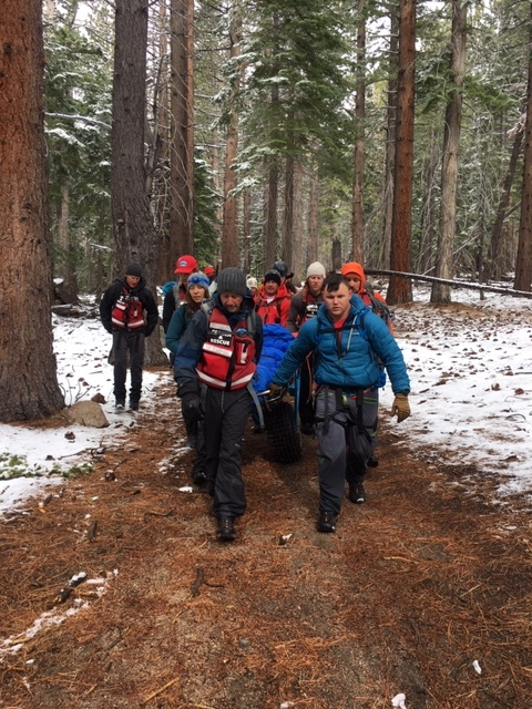 Nearing the trailhead.  Image by Mark Zila