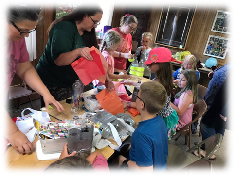 2019 Vacation Bible School - Rocket Pack Assembly