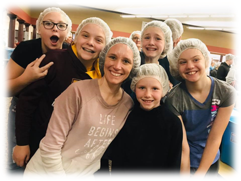 2018 - Feed My Starving Children packing event.