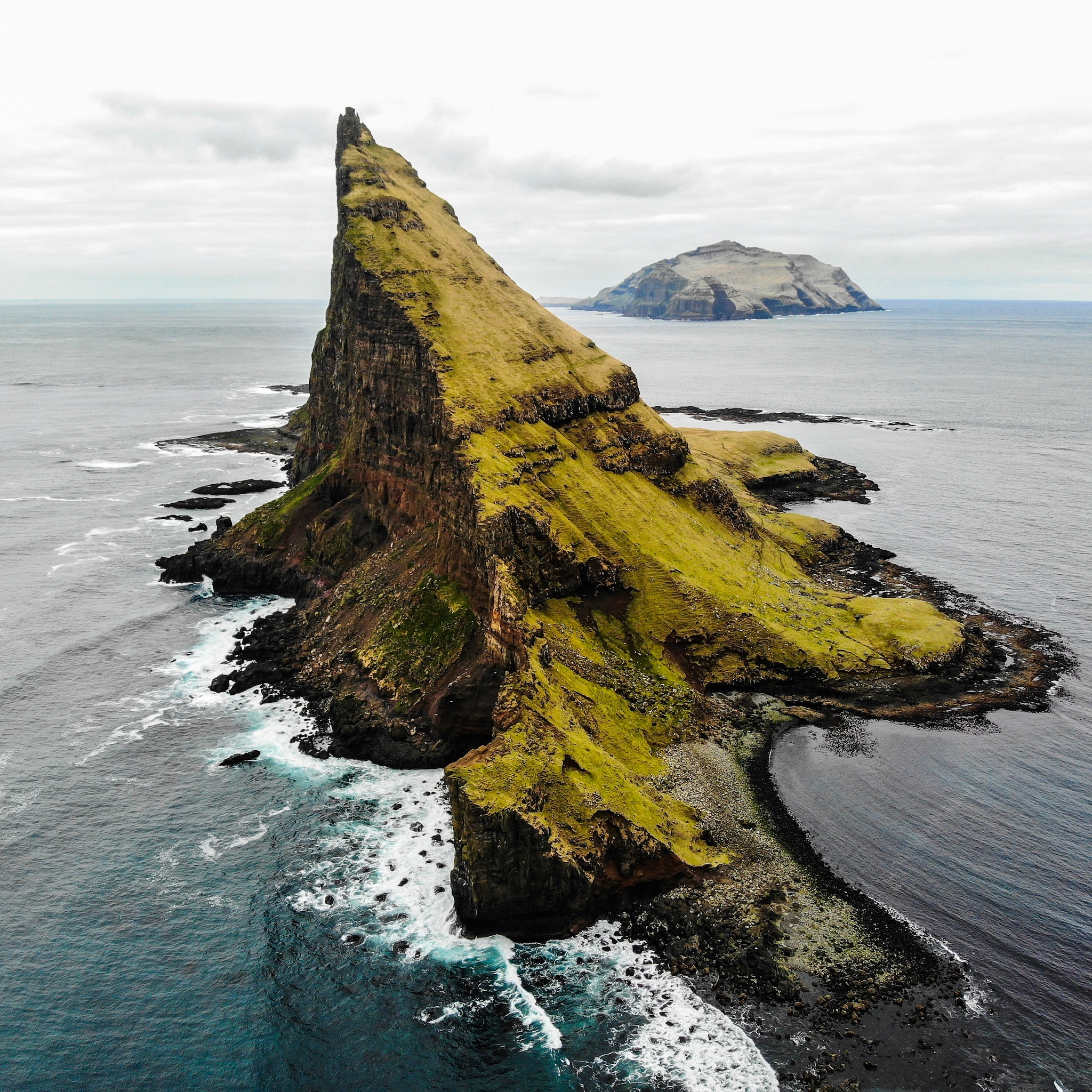 One of the more famous views of the Faroe Islands. Don't be fooled, these views aren't easy to get to, and as you'll read has its share of dangers.