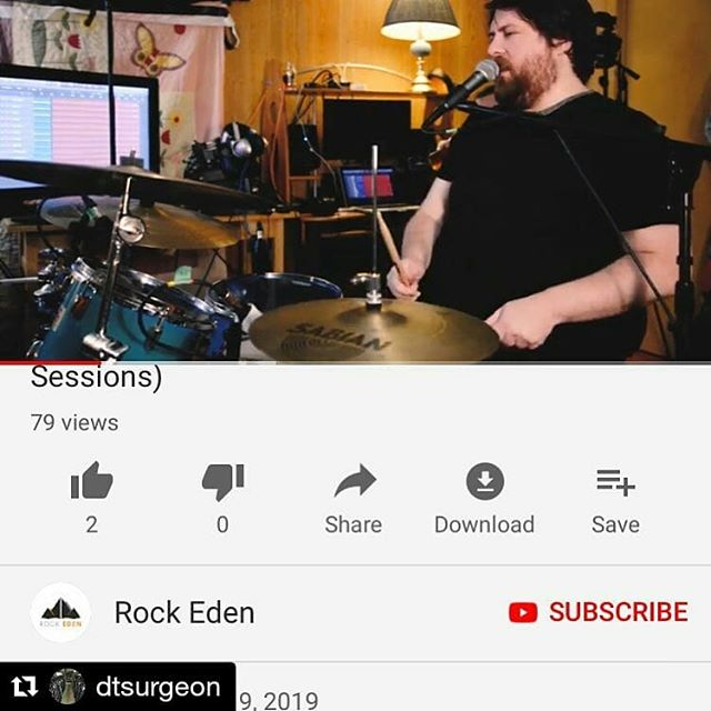 Here's a live video of @dtsurgeon from a @rockedenmagazine live session in December. This was a lot of fun to make. I got to help out with the tracking/mixing/mastering. The guys nailed it in like 1 or 2 takes. Link in bio.  #Repost @dtsurgeon (@get_repost) ・・・ We did a video with @rockedenmagazine for our new song well lit line. Big thanks to them! Link in our profile. #newfoundland #newalbum #rockedenmagazine #dtsurgeon #alternativerock #indiemusic #canada #canadianmusic #musicnl @hatchharnett @andrewrandyboyd @allergymedsandcats @mark_mills