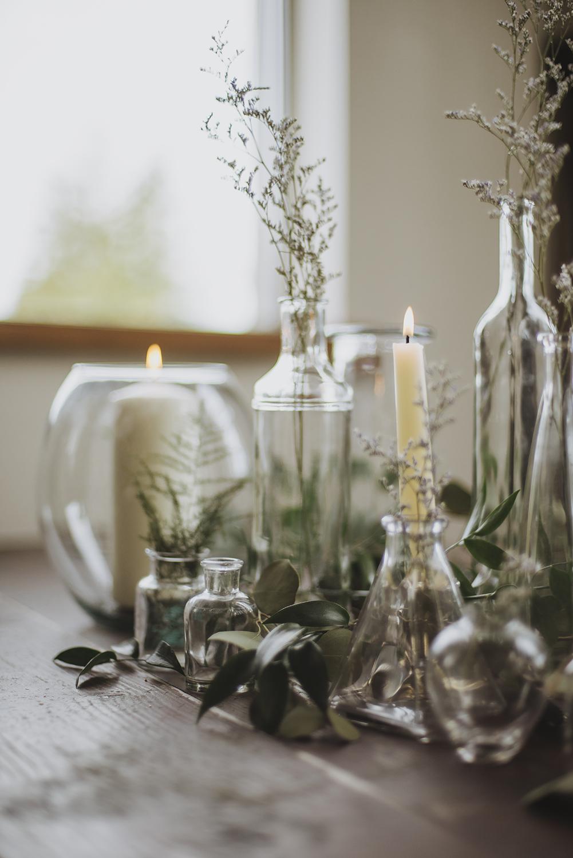 Wedding Table Centerpiece Botanic Creative Victoria, B.C