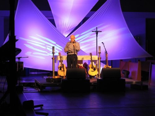 Theatre Conversion for a Fund Raising Concert at St. Gabriel's Parish in Willowdale ON