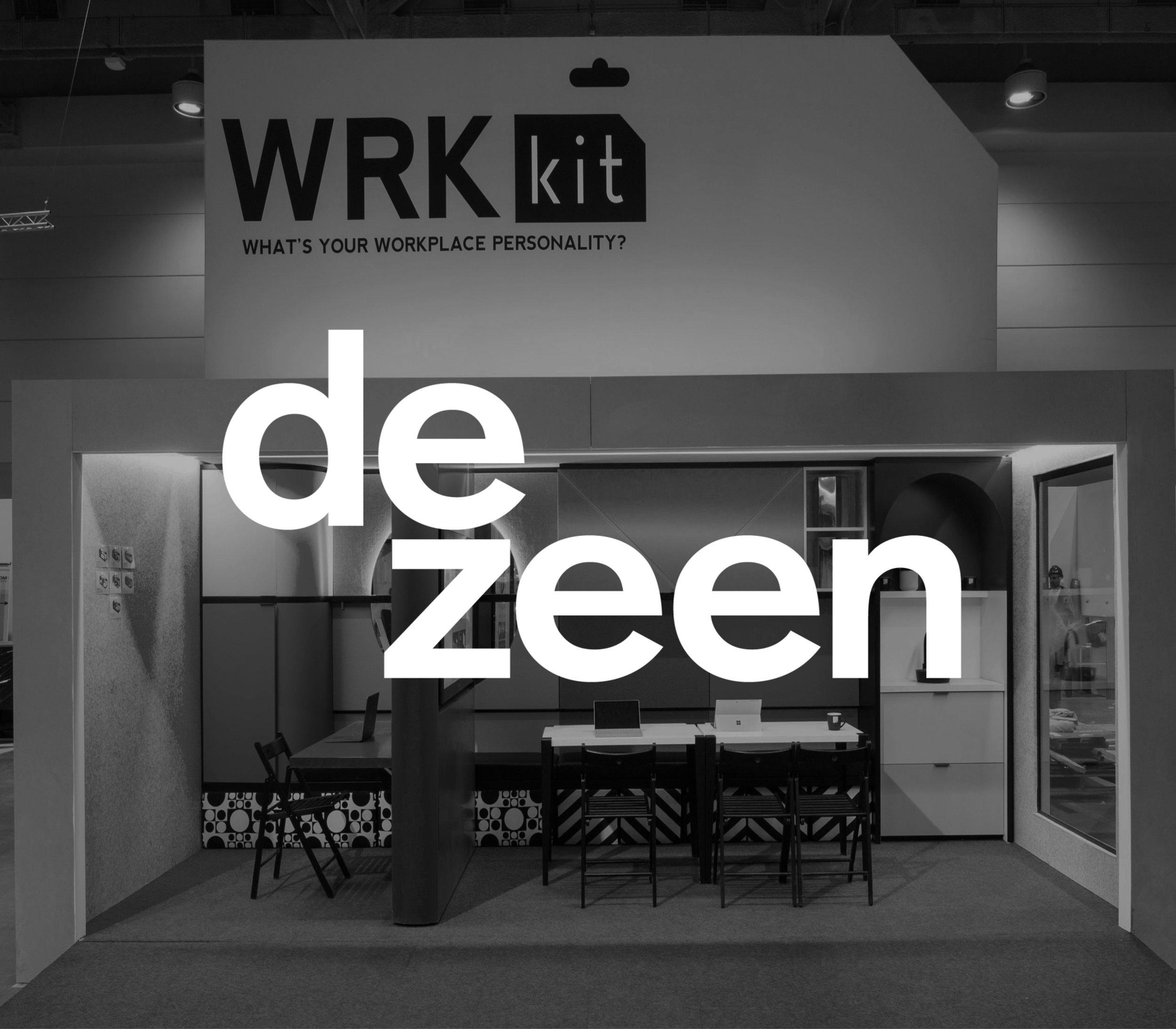 sdi design dezeen WRKkit workplace flexible office container