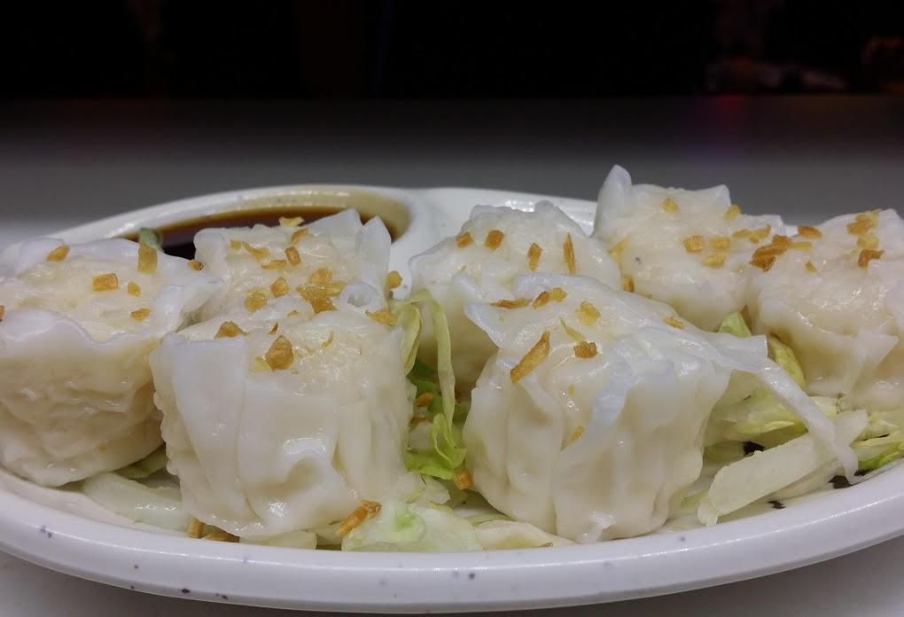 Shumai - Fried or steamed shrimp dumplings (7pcs)