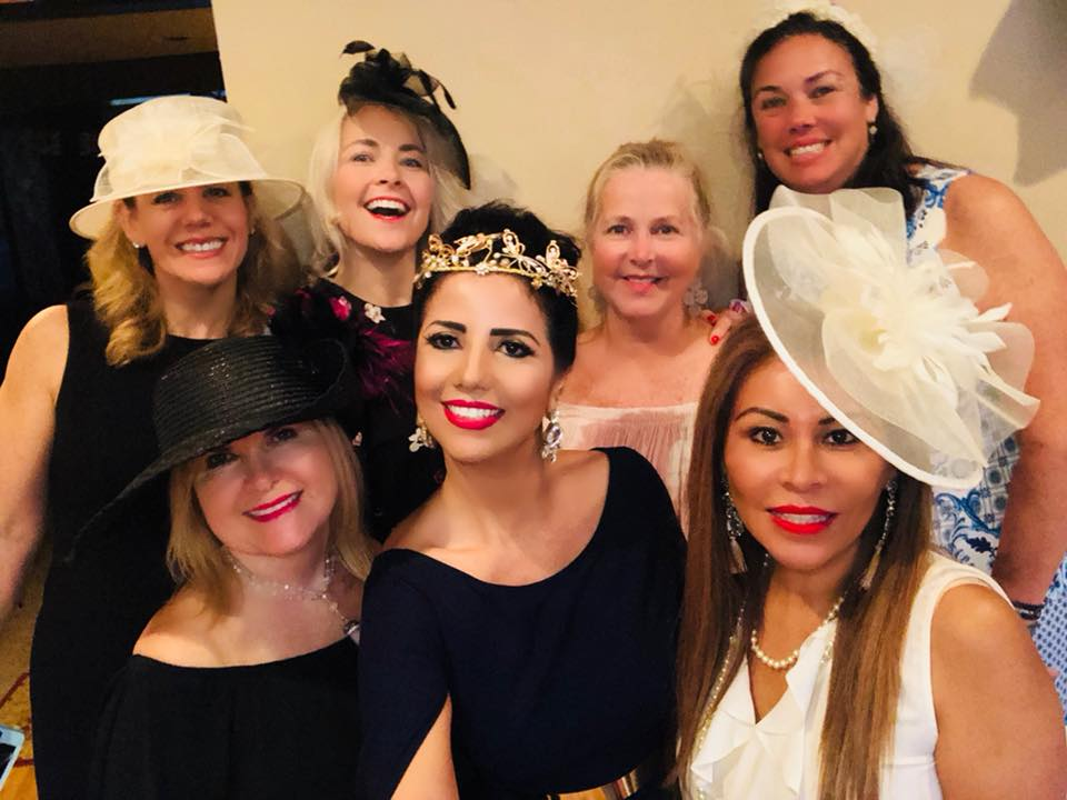 Attending a celebration of the Royal Wedding... Thank you Faye for hosting such an amazing party.