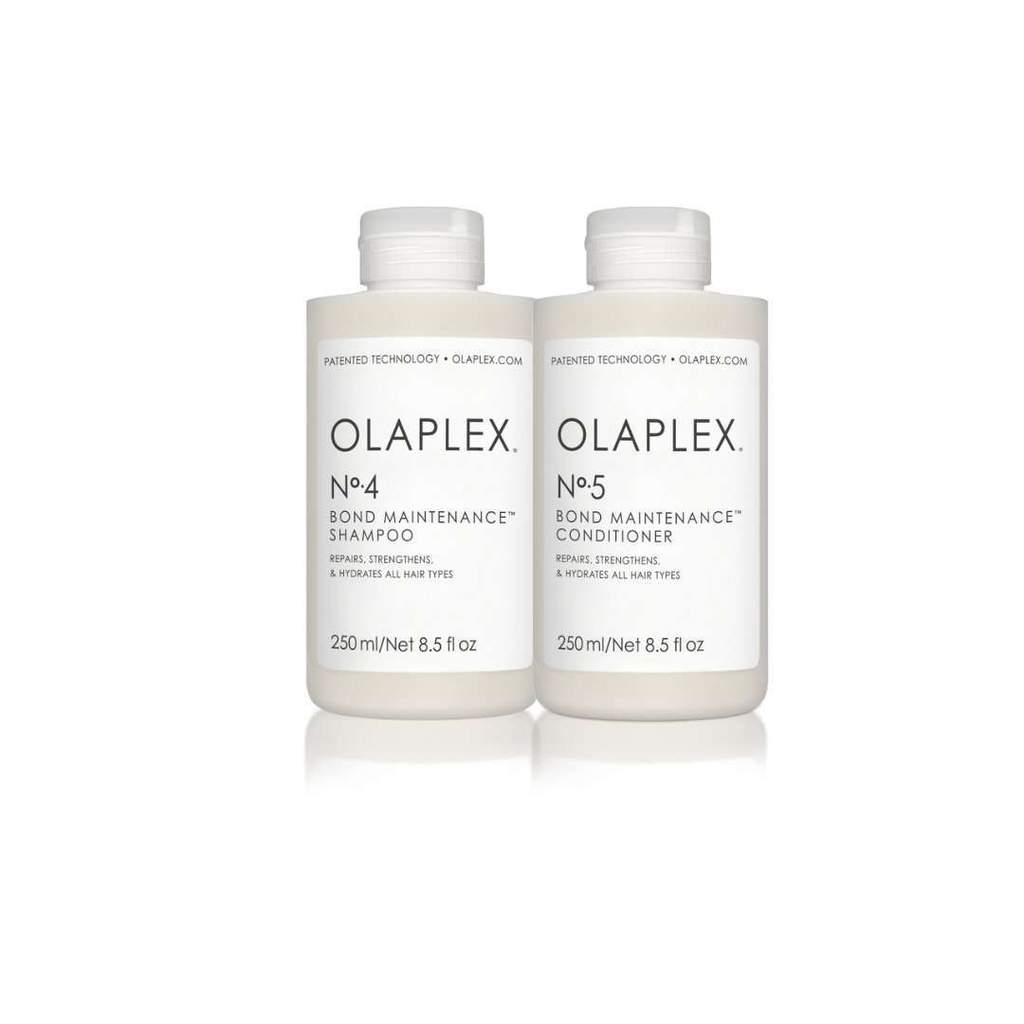 """Olaplex no 4. """"bond maintenance"""" Shampoo: $28Olaplex no 5. """"bond maintenance"""" Conditioner: $28 -"""